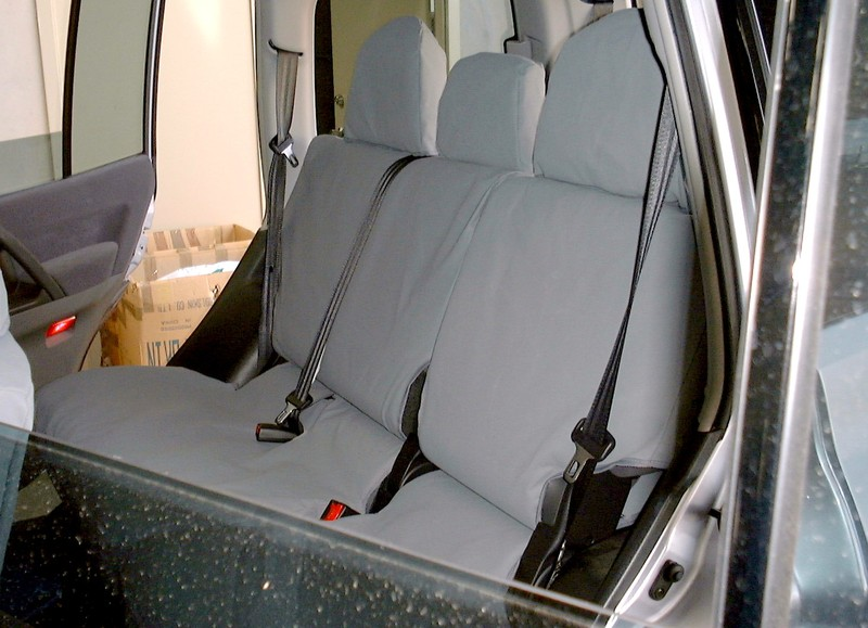 Canvas Seat Covers - Rear-Middle Seat