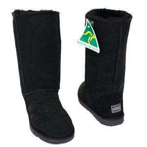 High Classic Eva Ugg Boots Black