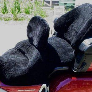motorcycle-sheepskin-seat-cover