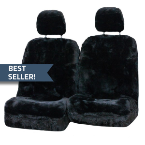 Diamond-33mm-Size-30-With-Separate-Head-Rests-6-Star-Airbag-Compatible-Sheepskin-Seat-Covers-Black-best-seller