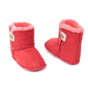 Baby Booties Red