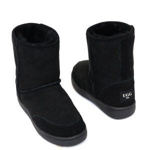 Low Ugg Boots Bowa Heavy Duty Soles Black
