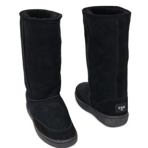 High Ugg Boots Bowa Heavy Duty Sole Black