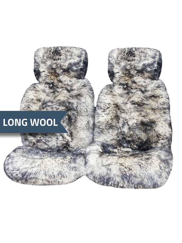 Ultra-Premium-Sheepskin-Seat-Covers-Long-Wool-Hooded-White-With-Black-Tips-long-wool