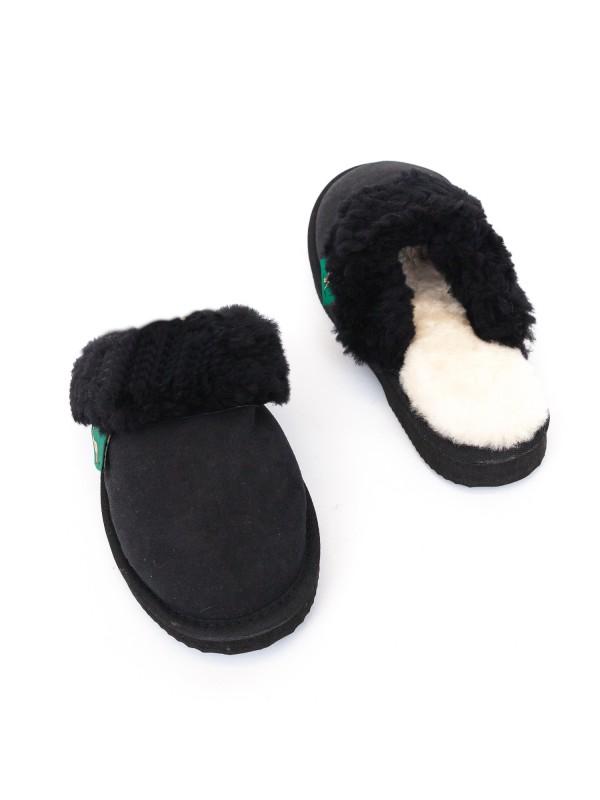 Ugg Ladies Scuffs Black