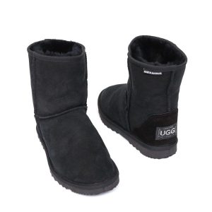 Low Ugg Boots Eva Classic Sole Black