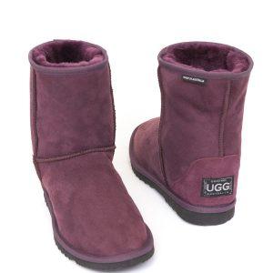 Low Ugg Boots Eva Classic Sole Purple