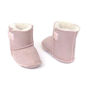 Baby Booties Light Pink