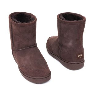 Low Ugg Boots Bowa Heavy Duty Soles Brown