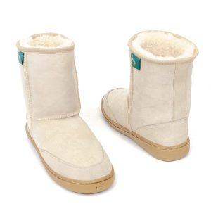 Low Ugg Boots Bowa Heavy Duty Soles Beige