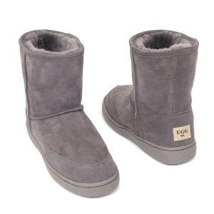 Low Ugg Boots Bowa Heavy Duty Soles Grey