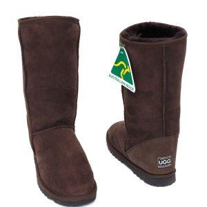 High Classic Eva Ugg Boots Brown